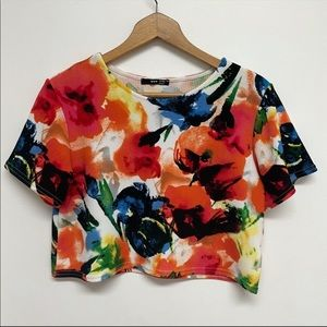 TFNC (ASOS) bold floral pattern size Small